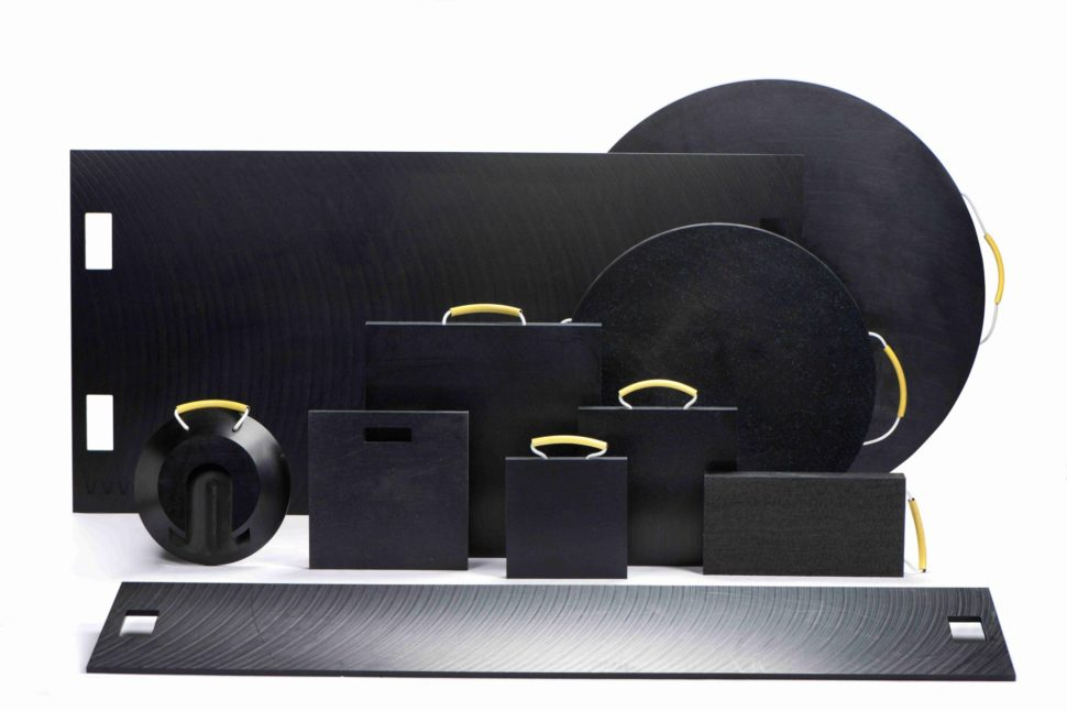 Plastové stabilizační podložky a desky
