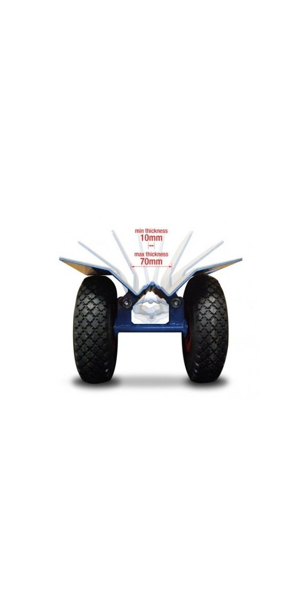 samosvorný transportní vozík 250kg